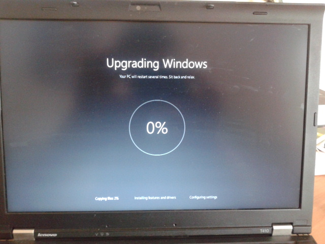Zase upgrade na Windows 10